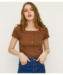 SLY/FRONT BUTTON SQUARE CUT TOPS/502279866
