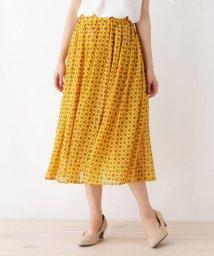 SHOO・LA・RUE Cutie Blonde/シフォンギャザースカート/502281247