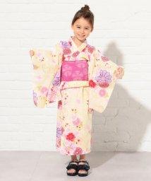 KUMIKYOKU KIDS/【KIDS雑貨】万寿菊と桜 浴衣/502284158