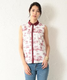 GUILD PRIME/【LOVELESS】WOMEN Toile du Jouy ノースリブラウス/501884741