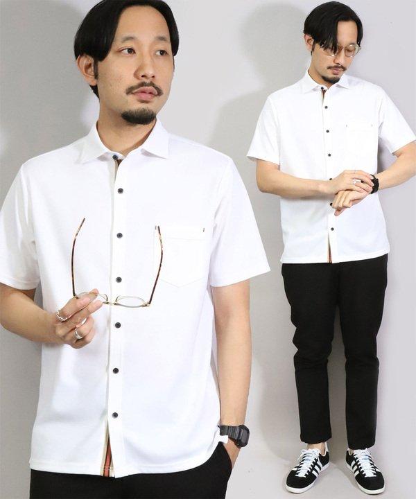 メンズビギ ポンチポロシャツ メンズ ホワイト S 【Men's Bigi】