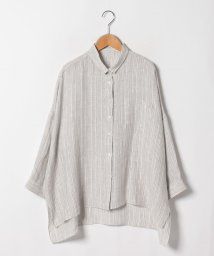 Leilian/【ROSSO35】リネンシャツ/502004034