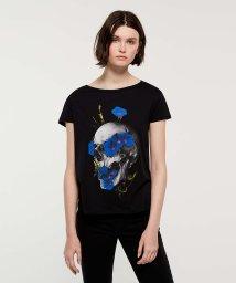 SISLEY/フラワーグラフィック半袖Tシャツ/502267614