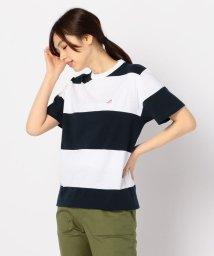 FREDYMAC/15.0ボーダースニーカー刺繍Tシャツ/502269621