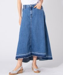 en recre/【YANUK/Flare Denim Skirt】デニムフレアスカ-ト/502270895