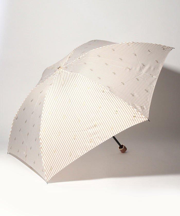 MACKINTOSH PHILOSOPHY 婦人折りたたみ傘 ストライプ