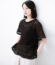 haco!/Tシャツ感覚で着られる便利なレースブラウス/502272574