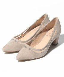 INTER-CHAUSSURES IMPORT/【ABOVE AND BEYOND】ポインテッドトウミドルヒールパンプス/502277972