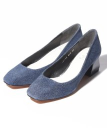 INTER-CHAUSSURES IMPORT/【ABOVE AND BEYOND】スクエアトウミドルヒールパンプス/502277977