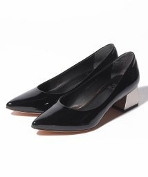 INTER-CHAUSSURES IMPORT/【ABOVE AND BEYOND】ポインテッドトウメタリックヒールパンプス/502277978
