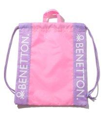BENETTON (UNITED COLORS OF BENETTON GIRLS)/ベネトンキッズロゴナップサック・リュック/502278518