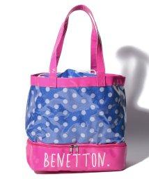 BENETTON (UNITED COLORS OF BENETTON GIRLS)/ベネトンキッズドット柄ビニールトートバッグ/502278519