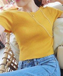 maison de LATIR/今旬のクロップドtシャツは少し広めのクルーネックがおしゃれ。/502280885