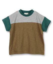 branshes/配色切り替え半袖Tシャツ/502281152