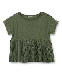 branshes/プリーツ切替え半袖Tシャツ(80~150cm)/502281167