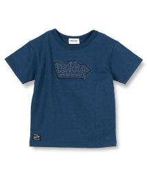 RADCHAP/デニムワッペン半袖Tシャツ(80~140cm)/502281171