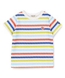 RADCHAP/稲妻ボーダー半袖Tシャツ(80~140cm)/502281176