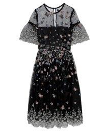 Lily Brown/フラワー刺繍ワンピース/502284051
