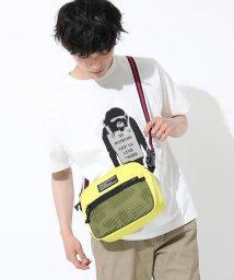 THE SHOP TK/テープベルト付け替えロゴプリントサコッシュ/ウエストポーチ/502284069