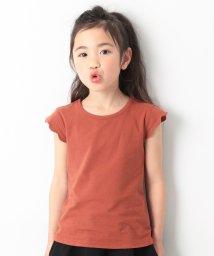 devirock/袖スカラップTシャツ 女の子/502284952