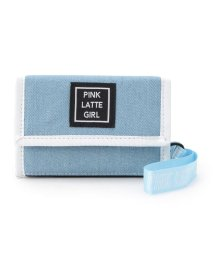 PINK-latte/ブランドチャーム付き折り畳み財布/502285373