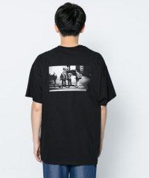SENSE OF PLACE/バックプリントTシャツ(5分袖)/502286233