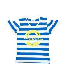 ALGY/肩あきボーダーTシャツ/501588814