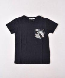SLAP SLIP/天竺迷彩ポケット付きTシャツ/502039674