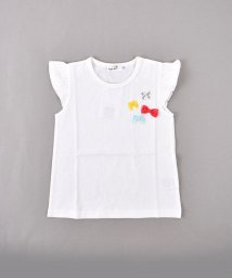 SLAP SLIP/天竺リボン付きTシャツ/502039681