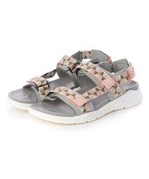 ECCO/エコー ECCO Womens X-TRINSIC Flat Sandal (WILD DOVE/MUTED CLAY)/502267074