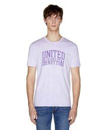BENETTON (mens)/スモーキーロゴ半袖Tシャツ・カットソー/502267648