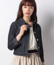 MISS J/【洗える】ストレッチデニム ジャケット/502276039