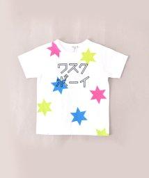 WASK/冷感カタカナプリントTシャツ(110cm~130cm)/502279502