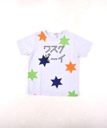 WASK/冷感カタカナプリントTシャツ(140cm~160cm)/502279503