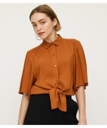 SLY/FRONT TIE FLARE SLEEVE TOPS/502287789