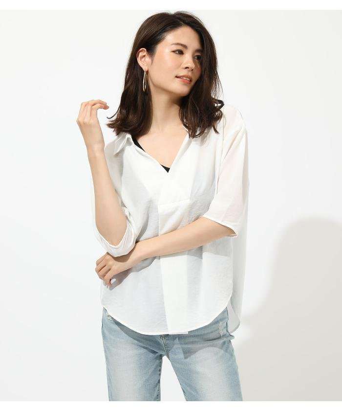 BASIC SKIPPER BLOUSE