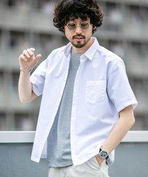 nano・universe/【WEB限定】フレンチリネンミニレギュラーシャツ 半袖/502288046
