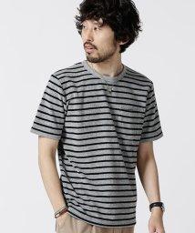 nano・universe/ショートリングパイルTシャツ/502288050