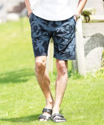 JIGGYS SHOP/スウェットショートパンツ / スウェット ハーフパンツ メンズ ショートパンツ 短パン 膝上 柄ショーツ/502288658