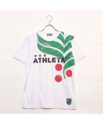 ATHLETA/アスレタ ATHLETA メンズ サッカー/フットサル 半袖シャツ カフェブラロゴTシャツ 03323/502290952