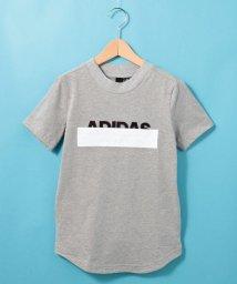 HusHush(Kids)/【110-160cm】adidas ラインロゴTシャツ(一部店舗・WEB限定)/502291101