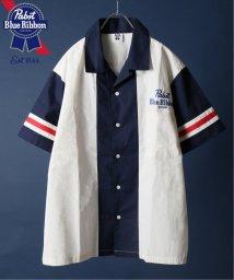 JOURNAL STANDARD relume Men's/【Begin掲載】PABST BLUE RIBBON BEER / 別注パブスト ワークシャツ/502291723