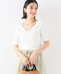 IENA/CURRENTAGE ワイドリブTシャツ/502291876
