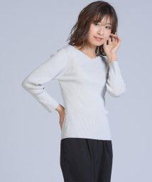 ketty cherie/ハイツイストVネックニット/502029063