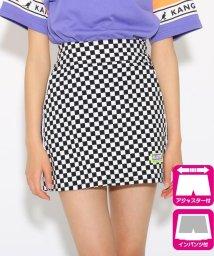 PINK-latte/サイドラインスリット台形 スカート/502036991