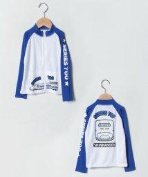 VacaSta Swimwear/新幹線柄男児長袖ラッシュガード/502249899
