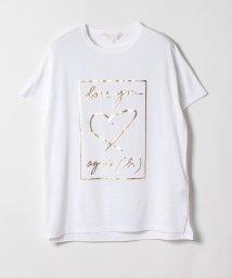 To b. by agnes b./W984 TS メッセージTシャツ/502266761