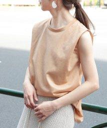 ROPE' mademoiselle/【洗える】リヨセルノースリーブTシャツ/502281678
