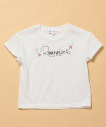 ROPE' PICNIC KIDS/【ROPE' PICNIC KIDS】ロゴプリントTシャツ/502287885