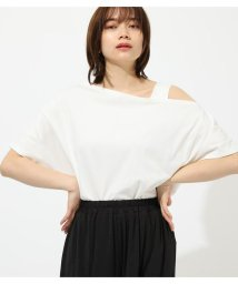 AZUL by moussy/★ONE SHOULDER CUT TOPS/502292568
